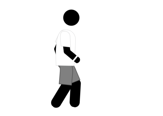 Free Health Animated GIF Icon – Walking