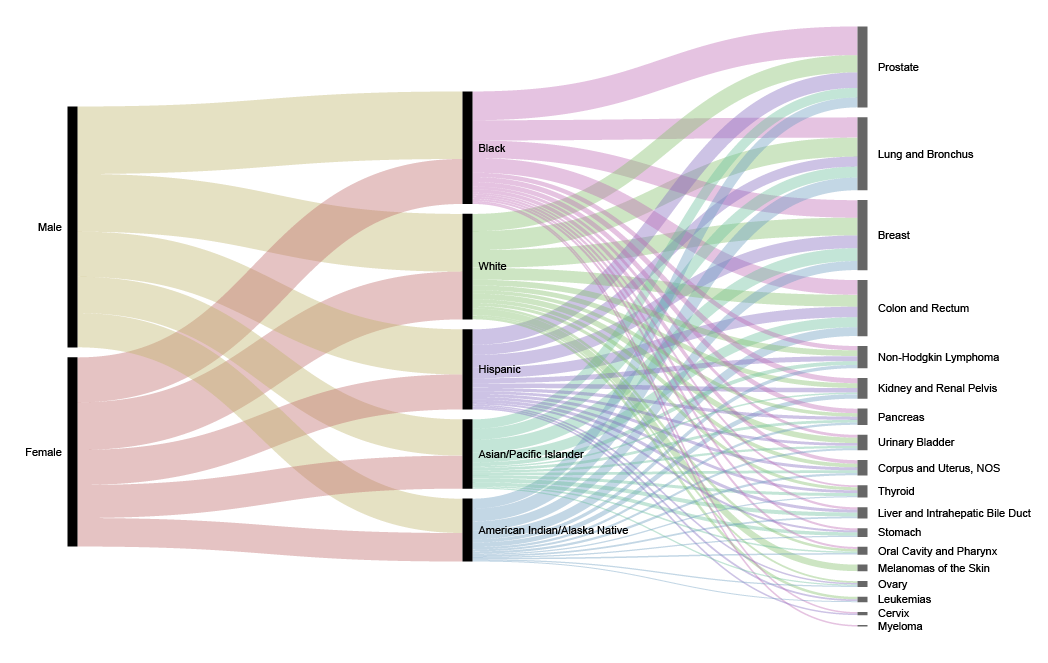 Visualizing Categorical Data as Flows with Alluvial Diagrams