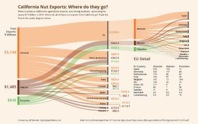 California Nut Exports: Where do they go?