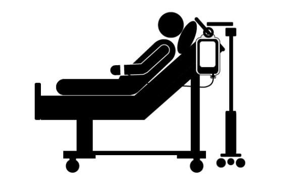 free healthcare pictogram patient in hospital bed picture of sick person clipart free sick person clipart